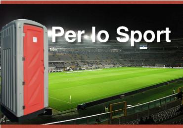 Noleggio Bagni per Strutture sportive Verona